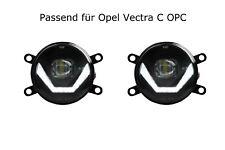 LED Nebelscheinwerfer + Tagfahrlicht Black Cree Chip für Opel Vectra C OPC LSW4