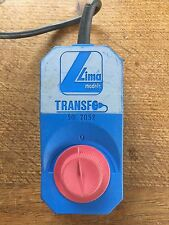 Lima Models Transfo 50 2052 Transformer Not Tested Suit Hornby Tri-Ang Train
