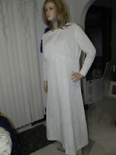 Vintage Dress: Hand made Wedding dress? Anniversary? White/Silver sparkle Pretty