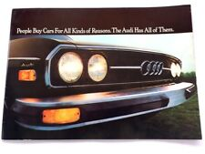 1975 Audi 100 100Ls 22-page Big Original Car Sales Brochure Catalog