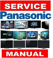 Panasonic Plasma LCD LED 3D Smart UHD 4K TV Service Manual and Schemtics