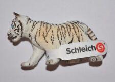 Schleich Sammelfigur Wild Life Tigerjunges weiss 14732 / ca.7 cm groß