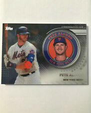 Pete Alonso 2020 Topps Series 2 Platinum Medallion Coin 1/1 Mets