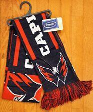 "Washington Capitals Knit Winter Neck Scarf NEW NHL 65"" TS11 Great Design!"