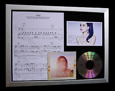 KATY PERRY ROAR LIMITED Numbered QUALITY CD FRAMED DISPLAY+EXPRESS GLOBAL SHIP!!