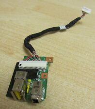 Lenovo ThinkPad T410 i / o sub carte connecteur USB + 1394 + Câble 45m2906 63y2122