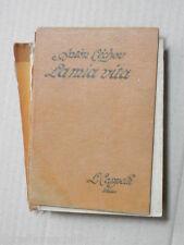 LA MIA VITA Racconto d un provinciale Anton Cecov Olga Malavasi Arpshofen 1929