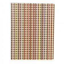 Paul Smith Stationery - Signature Stripe Checked Notebook /Size: 26 x 19.5cm