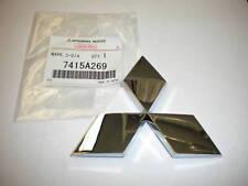 Emblem Badge Rear Galant 2004 - 2007 Eclipse 2005 - 2012  Triple Diamond