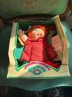 1985 Cabbage Patch Kids Doll With Birth Certificate And Adoption Papers
