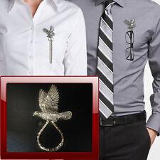 Wood Pigeon B34 Pewter Pin Brooch Drop Hoop Holder Glasses,Pen,Jewellery
