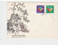 Poland 1959 Friendly Polish Chinese Boat slogan Cancel FDC Stamps Cover ref22990