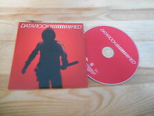 CD Indie Data Rock - Red (13 Song) Promo NETTWERK / YOUNG ASPIRING PROF cb