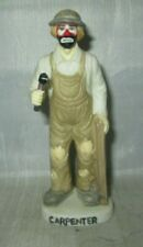 Emmett Kelly Jr. Carpenter w/ Hammer Flambro Figurine