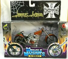 Jesse James Muscle Machines West Coast Choppers El Diablo Ii 2003 1:18 Scale