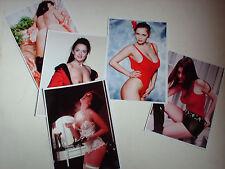 PIN UP  JOB LOT SET 40 PHOTOS 7 X 5 REPRINT HOT NUDE GLAMOUR PAGE 3 MODELS STRIP