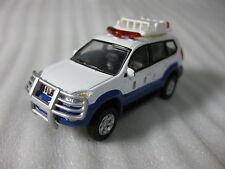 Toyota Land Cruiser Prado 120 Police Diecast Car Nib Rare Lawson Promo