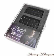 Seymour Duncan Alpha and Omega Humbucker Pickup Set, Black, 11102-63B