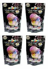 4 x OKIKO(100g) 3.5 oz Platinum Head Huncher & Color Faster Floating Pellets M