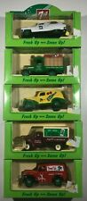 "(Lot of 5) ""Das Gone"" 7 UP Delivery Van's  Made in England 1995"
