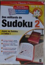 ) CLIC & GO - des milliards de Sudoku 2 - jeu PC