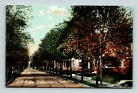 INDIANAPOLIS IN INDIANA OLD HOMES ON TALBOTT AVENUE POSTCARD A3-2