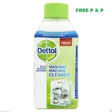 3 x Dettol Washing Machine Cleaner 250ml Sanitizing Formula Eliminates Odours UK