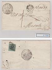 (E7292) Herrlicher Brief aus Ferrara