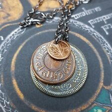 "The Lord of the Rings ""The Shire"" Layered Hobbit Coin Necklace - New In Package"