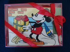 Disney Store - Christmas Greeting Cards - Mickey Mouse - Three Holiday Designs