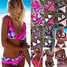 2018 Women Swimwear Push Up Folral Print Bikini Set Femme Beachwear Swimsuit