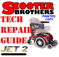 SERVICE GUIDE Jazzy Jet 2 Technical Repair Manual and Illustrated Parts Dia