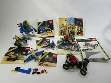 Lot of 6 vintage Legoland space sets with instructions 6882 6848 6847 6825 6805