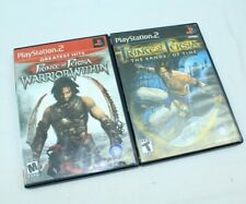 PS2 Prince Of Persia  Warrior Within + Sands Of Time Playstation 2