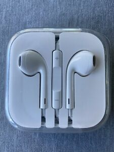 GENUINE APPLE EARBUDS - WIRED OEM EARPODS - BRAND NEW NEVER OPENED!!!!!