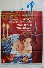 "DAY AND THE HOUR LE JOUR ET L""HEURE one sheet movie poster 27x41 SIMONE SIGNORET"