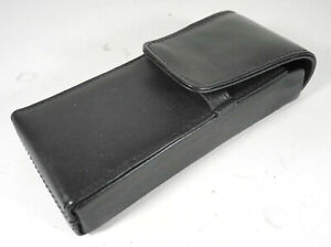 Black Leather Fountain Pen Case
