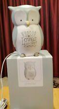 GRASSLANDS ROAD OWL DESKTOP LIGHT LAMP - WHOOOO LOVES YOU BABY? -  NEW IN BOX