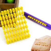 Alphabet Number Letter Number Cookie Biscuit Cutter Embosser Cake Mould Tools