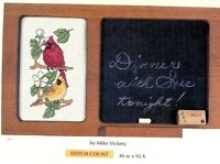 CARDINALS    -  CROSS STITCH  PATTERN ONLY    HM - WUS