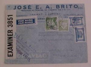 PORTUGAL  BERMUDA CENSOR (I.C) PICTORIAL WINE AD BACKSTAMP TO USA