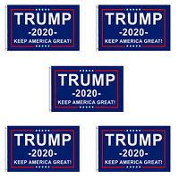 5-Pack Trump 2020 Flag Keep America Great President Donald Trump 3x5 Ft Flag USA