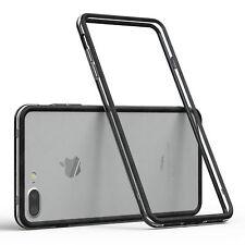 Bumper für Apple iPhone 8 / 7 Plus Case Wallet Schutz Hülle Cover Schwarz