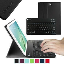 """Bluetooth Keyboard Case Cover for Samsung Galaxy Tab S2 8.0 / S2 9.7"""" / S3 9.7"""""""
