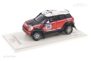 Mini All4 Racing Dakar Rally 2011 TSM 1:43 TSM114351
