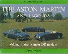 ASTON MARTIN DB2 DB3 DB4 DB5 DB6 DBS 1951- 1973 DESIGN & PRODUCTION HISTORY BOOK