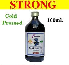 RAW BLACK SEED OIL - BLACK CUMIN (NIGELLA SATIVA) COLD PRESSED UNREFINED 100ml.