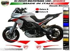 Adesivi moto per Ducati Multistrada 1200 2010/2014 adesivi per carena
