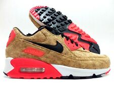 NIKE AIR MAX 90 ANNIVERSARY CORK BRONZE/BLACK-INFRARED SZ WOMEN'S 8 [726485-700]