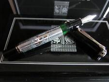 Pelikan M910 Toledo Black-Silver Fountain Pen with M nib (Special Edition)